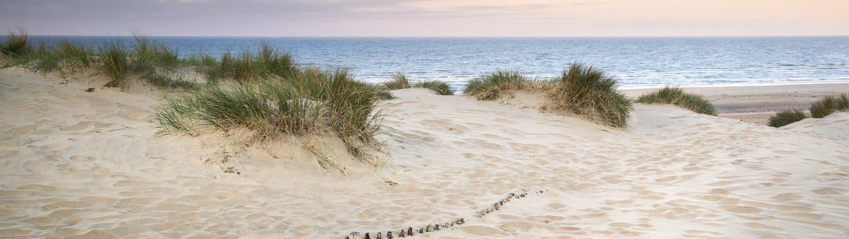 Strand nabij Noordwijkerhout